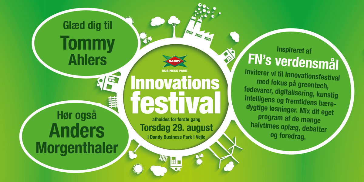 Innovationsfestival i Dandy Business Park